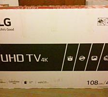 """ТВ жк LG в идеале. 43""""UHD. 4K. smart"""