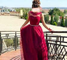 Вечернее платье марсала и белое по 100 каждое