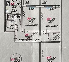 Продам/обмен 3-х комнатная на Липканах, от собственника