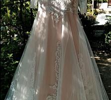 Продам свадебное платье! Красивое! Сшито на заказ