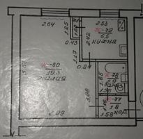 1-комн. ЛЕНИНСКИЙ, эт. 4/5, 30.5 м², ул. Коммунистическая, д. 199