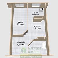 Продается квартира в новостройке с автономным отоплением