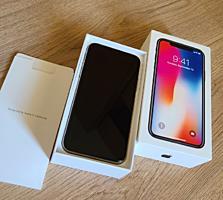 Apple iPhone X 256 Гб Белый (Коробка, Зарядка)