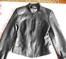Куртка кожаная новая, размер-М. 300 руб. Вайбер. Ватсап