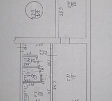 Двухкомнатная в центре 58 М. 2, ул. Гвардейская №14, 1-этаж/5, 15000$