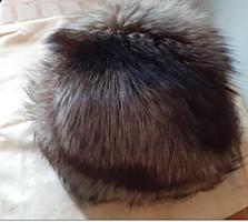 Продам женскую меховую шапку из натуральной черно-бурки - 800 руб.
