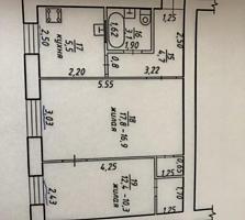 СРОЧНО СРОЧНО срочно продам 2-х комнатную.. 44 кв. м..