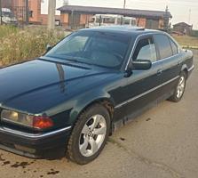 Продам BMW e 38, состояние хорошее, 97 год, бензин-газ метан 20 кубов