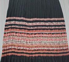 Продается шифоновая плиссированная юбка, кардиган и комплект, Турция