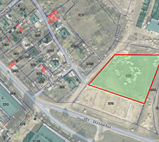 Spre vanzare teren pentru constructii in sectorul Ciocana, strada ...