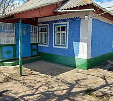 Домик в деревне на берегу Днестра