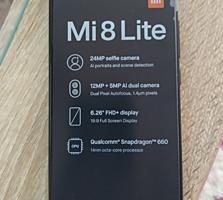 Продам новый mi 8 lite, 6gb, 128gb