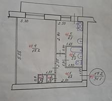 Продам 1-комнатную квартиру в центре города ул. Мичурина возле рынка