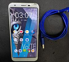 Продам за 500р BQ strike forward VoLTE/GSM с трещинами + Sim карта