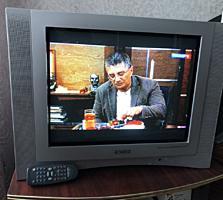 """Телевизор ORION, 21""""= 53 см., скачут цвета, на ремонт или на запчасти."""