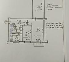 Продается трехкомнатная квартира (свежий косметический ремонт)