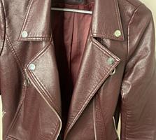 Продам укорочeнную куртку косуху