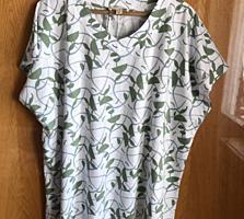 Трикотажная блузка новая размер 56/58