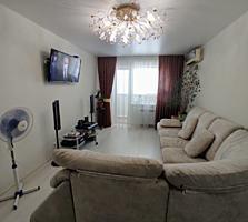 Продам 3-х комнатную квартиру со свежим евроремонтом, мебелью и техн.