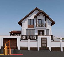 Se vinde casă cu 2 etaje în stil modern, amplasată în sectorul ...