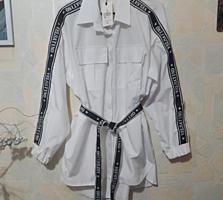 Продается рубашка, размер оверсайз, новая.