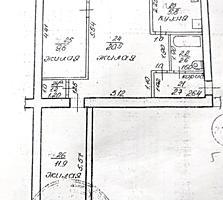САМЫЙ ЦЕНТР 3-к кв. 3/3 шатровая крыша 55/42/5,8 балкон 2,1 кв. м.