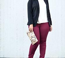 Цветные джинсы разм 54