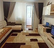 Spre vizare apartament spatios in sectorul Botanica. Suprafata totala