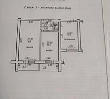 Продам блок в общежитии из 3-х комнат