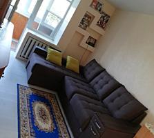 2-комнатная с хорошим ремонтом и мебелью.