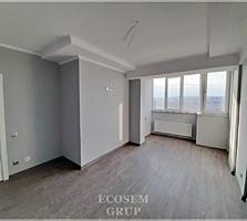 Botanica. Bloc nou. Living + 2 odai - 53 m2. Cu reparatie. Ipoteca.