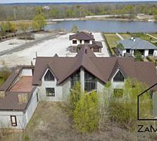 Продам шикарний будинок 600м2 на березі Дніпра, біля Рів'єра Золоче і