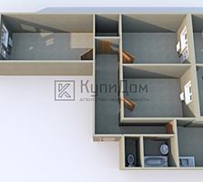 3-комнатная квартира в Тирасполе