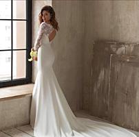 Сдам свадебное платье напрокат, либо продам, не было венчанным!
