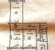БАЛКА 3-к квартира 1/9 64,5/41/6,7 три лоджии по 4,5 кв. м.