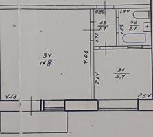 Продаётся 1-комнатная квартира по улице Октябрьская 15А