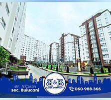 Se vinde apartament cu 3 odăi + living, situat în sect. Buiucani, ...