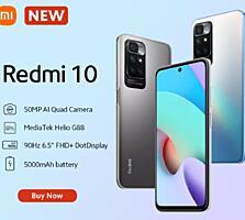 Новый в коробке Redmi 10 6-128гб с доставкой