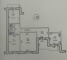 3-х комнатная квартира на Вальченко.