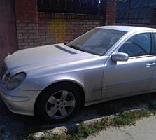 Мерседес Е 320, бензин-газ 2002