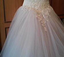 Продам свадебное платье и диадему