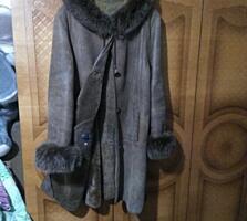 Продам зимние вещи: дубленка, шапка норковая