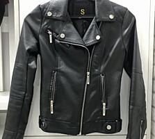 Продам женскую кожаную куртку