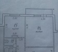 Продам 1-комнатную квартиру 2 этаж