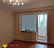 Продается 2комнатная квартира с большой переходной лоджией.