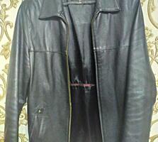 Куртка мужская, кожа
