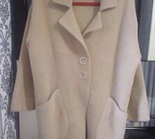 Пальто из альпаки размер 44-48