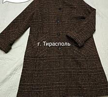 Дубленка б/у 52-56 размера, жилетка, пальто