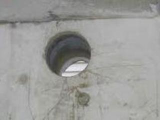 Сверление бетона.