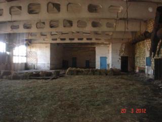 Территория со складским помещением